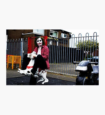 Joker's Day Off #1 Photographic Print