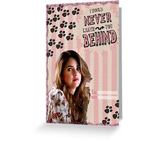 My Teenwolfed Valentine[I'd Never Leave You Behind] Greeting Card