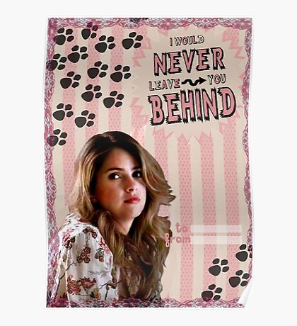 My Teenwolfed Valentine[I'd Never Leave You Behind] Poster