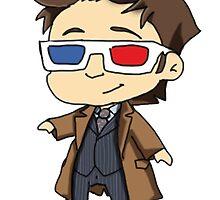 Tenth Doctor by Zefkiel