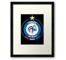 World Cup Football 7/8 - Team France Framed Print
