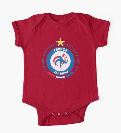World Cup Football 7/8 - Team France One Piece - Short Sleeve