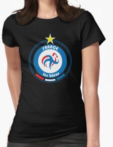 World Cup Football 7/8 - Team France Womens Fitted T-Shirt