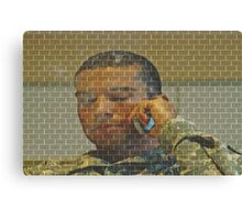 ♥(soldier calls home)♥ Canvas Print