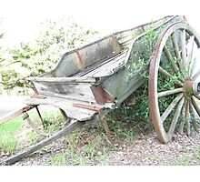 Wagon. Photographic Print