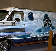 "1976 Custom GMC Van ""Jaws"" by TeeMack"
