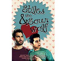 Stiles & The Sour Wolf Photographic Print