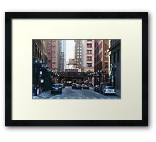 Living In Chicago Framed Print