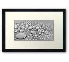 Liquid Framed Print
