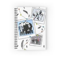 one direction polaroid snaps Spiral Notebook