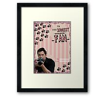 My Teenwolfed Valentine[I'm Your Biggest...] Framed Print