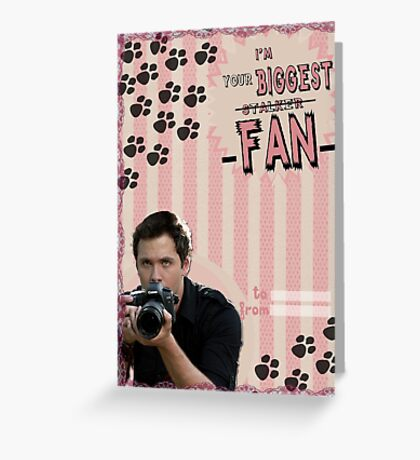 My Teenwolfed Valentine[I'm Your Biggest...] Greeting Card