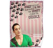 My Teenwolfed Valentine[I Like To Cuddle] Poster