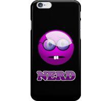 Funny Nerdy Geek Cartoon by 'Chillee Wilson' iPhone Case/Skin