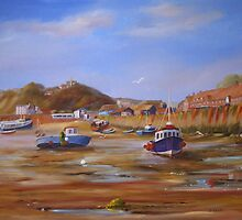 FOLKESTONE HARBOUR by Beatrice Cloake