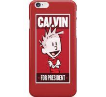 President Calvin iPhone Case/Skin