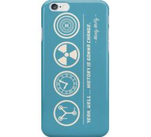 Back to the Future Symbolism iPhone Case/Skin