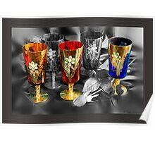 Venetian Glass Poster