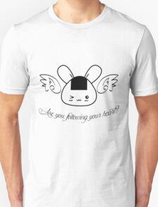 """DTP """"Are You Following Your Heart?"""": Shirt / Pouch / Print / Laptop Skins T-Shirt"""