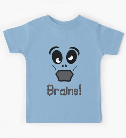 Zombie Brains by 'Chillee Wilson' Kids Tee