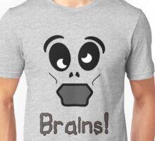 Zombie Brains by 'Chillee Wilson' Unisex T-Shirt