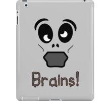 Zombie Brains by 'Chillee Wilson' iPad Case/Skin