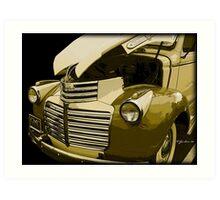 1940 GMC Art Print