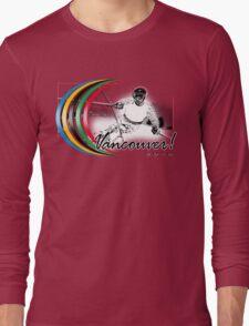vancouver skiing Long Sleeve T-Shirt