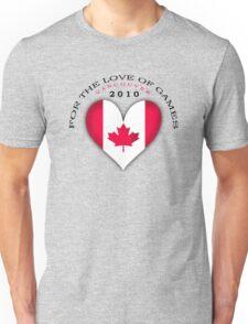 love of games Unisex T-Shirt