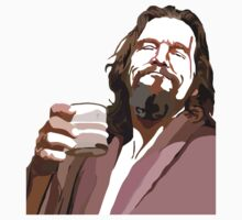 Big Lebowski DUDE Portrait T-Shirt