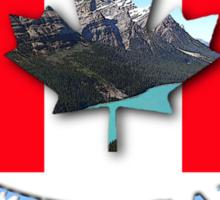 vancouver land flag Sticker