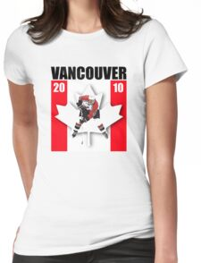 vancouver hockey Womens Fitted T-Shirt