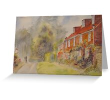 Summer in Winchelsea Greeting Card