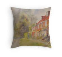 Summer in Winchelsea Throw Pillow