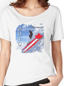downhill vancouver Women's Relaxed Fit T-Shirt