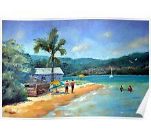Emerald Summer-Booker Bay NSW Poster