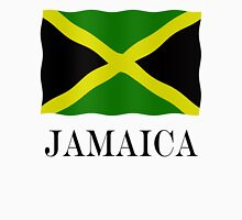 Jamaica flag Womens Fitted T-Shirt