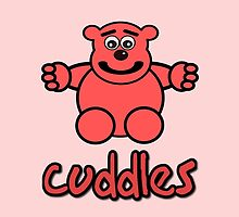 Cuddles the Bear by Chillee Wilson by ChilleeWilson