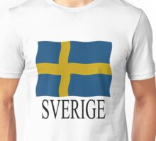Sweden flag Unisex T-Shirt