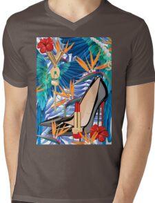 LUXURY Mens V-Neck T-Shirt