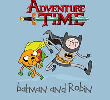 Adventure Time Batman and Robin Unisex T-Shirt