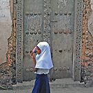 Stonetown Girl, Zanzibar, Tanzania, Africa by Adrian Paul