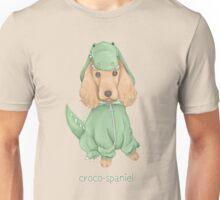 Croco-Spaniel Unisex T-Shirt