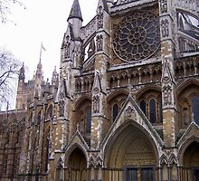 Westminster Abbey by George Salazar