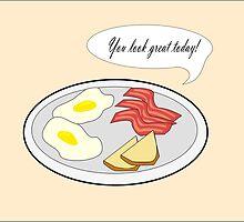 Complimentary Breakfast by Rachel Dengate