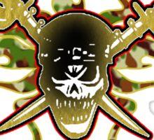 wrestling battalion Sticker