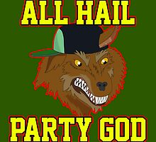 All Hail Party God - Adventure TIme by BaseDess