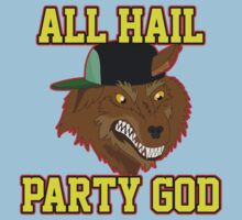 All Hail Party God - Adventure TIme Kids Tee