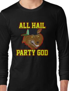 All Hail Party God - Adventure TIme Long Sleeve T-Shirt