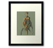 Quietly sitting Framed Print